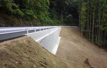 市道元湯線道路災害復旧工事
